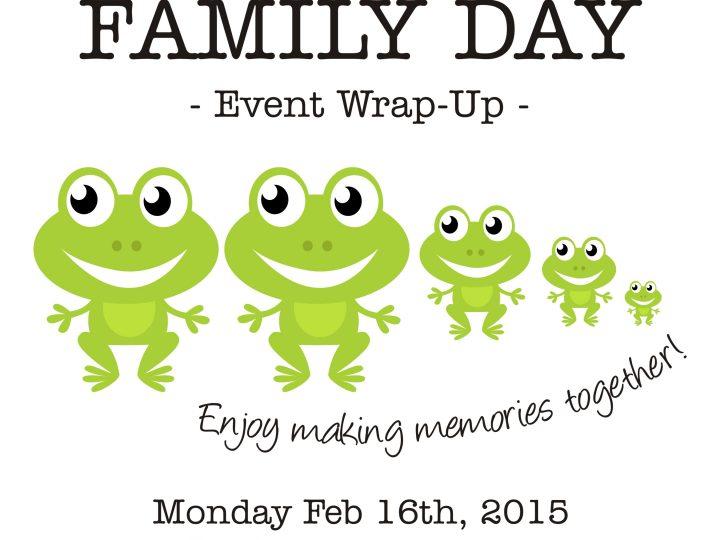Family Day 2015 in Burlington, ON
