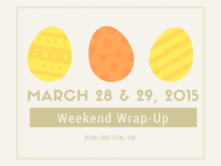 Weekend Wrap Up – March 28 & 29, 2015
