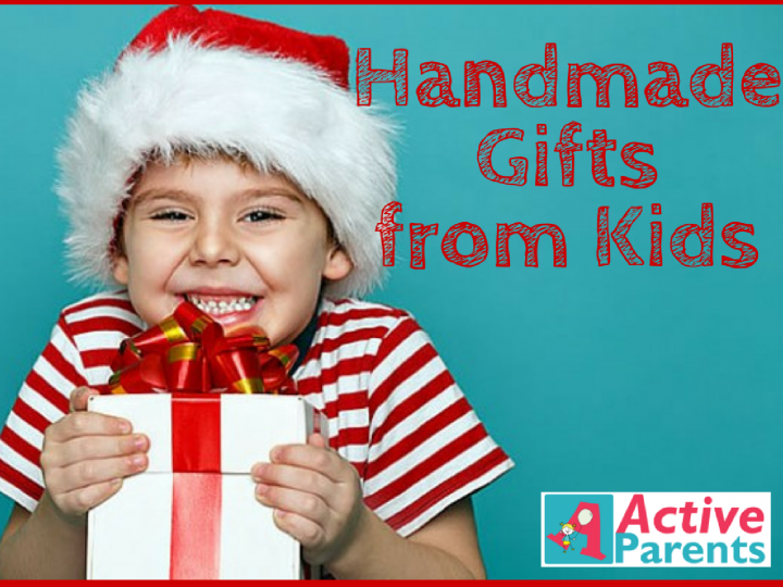 Handmade Christmas Gifts from Kids