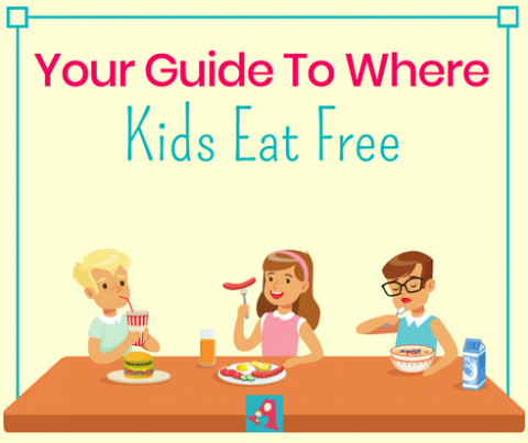kids eat free in Burlington