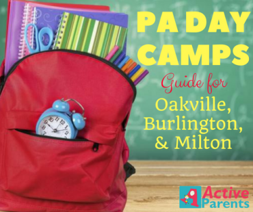 PA Day Camps in Burlington Oakville Milton