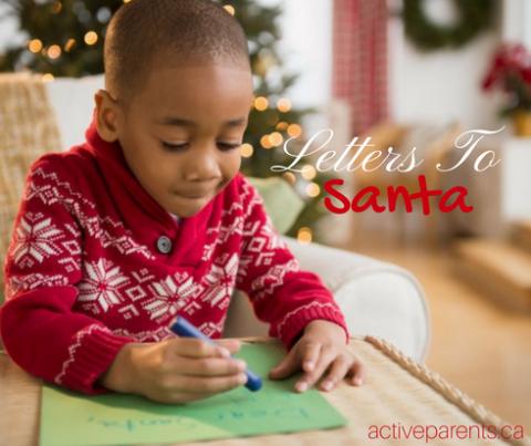 Letters to Santa Active Parents