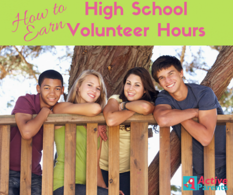 High School Volunteer Hours active parents