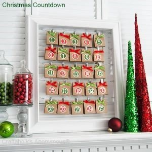 chocolate countdown calendar