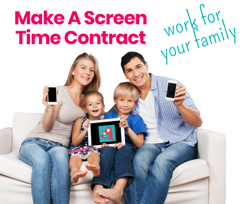 Create a Family Screen Time Contract