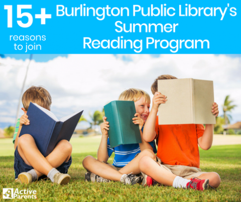 Burlington Public Library Summer Reading Program Active Parents