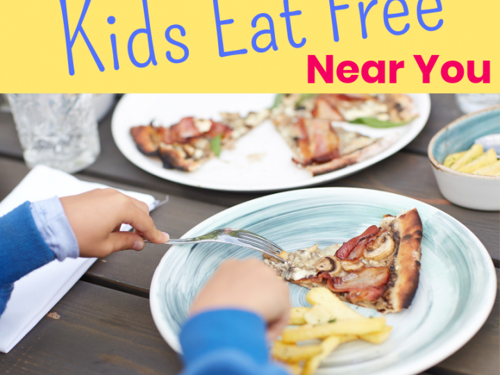 Where Do Kids Eat Free in Burlington?