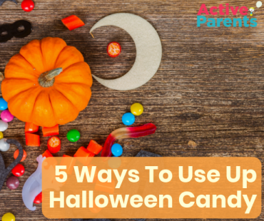 things to do with halloween candy active parents