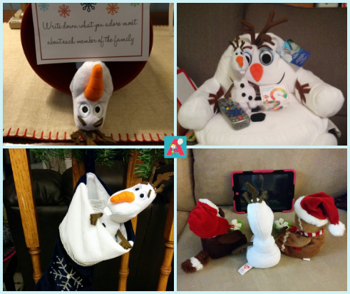 Olaf Elf on the Shelf with Active Parents Burlington, Ontario, Canada