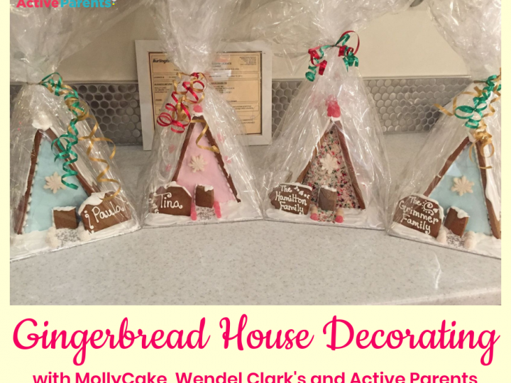 Gingerbread House Decorating with MollyCake