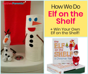 Elf on the Shelf with Active Parents Burlington Halton