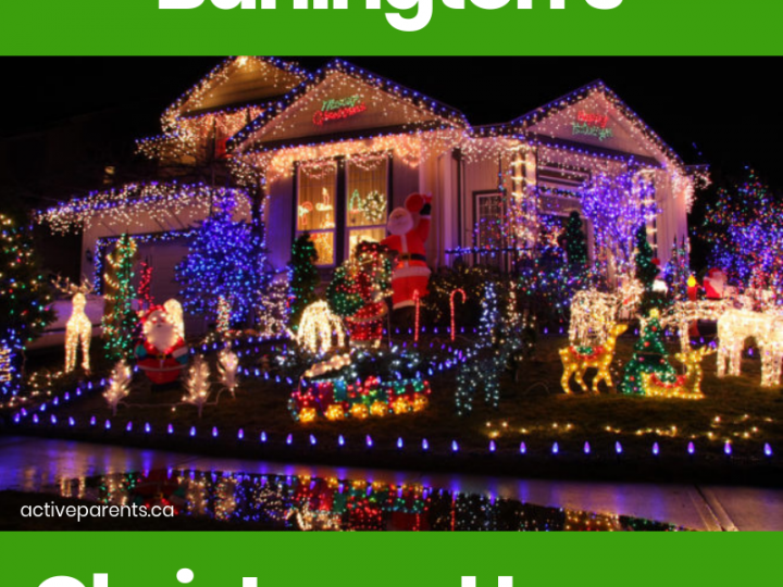 Map of Christmas Lights in Burlington