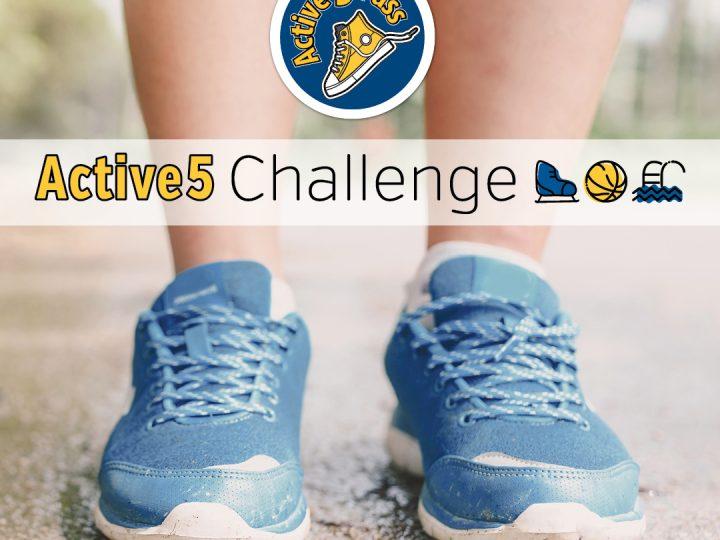City of Burlington's Active5 Challenge!