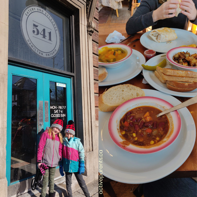 Active Parents PA Day Done Right 541 Eatery and Exchange Hamilton