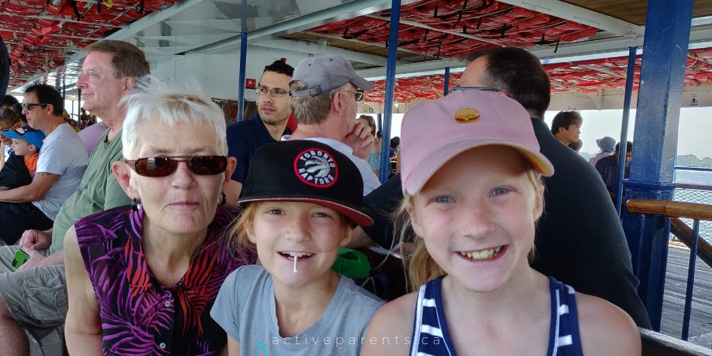 Toronto Island Ferry Centrville Centre Island Active Parents