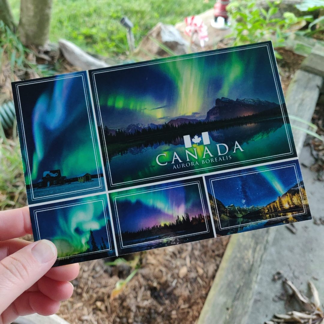canadian postcards sent to germany