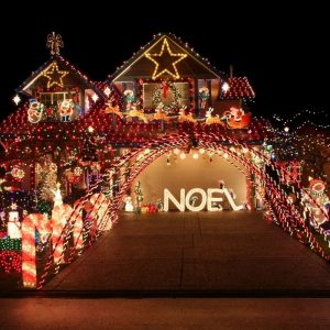Christmas Houses Map Header Images