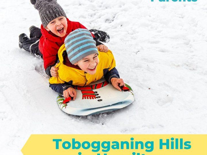 Tobogganing Hills in Hamilton