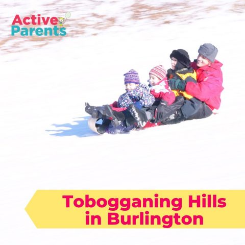 tobogganing hills in burlington