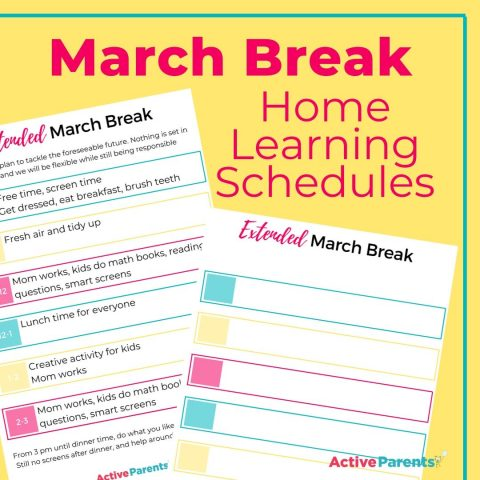 March Break Schedules Blog Image