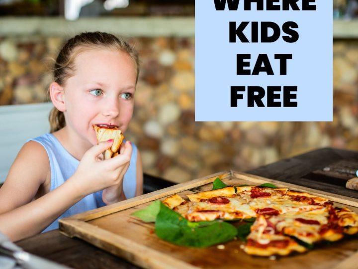 Where Do Kids Eat Free in Burlington?