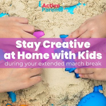 Stay Creative at Home with Kids