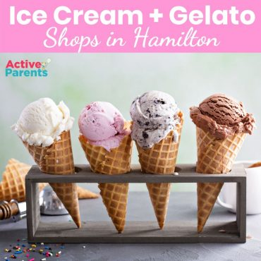 ice cream shops in Hamilton