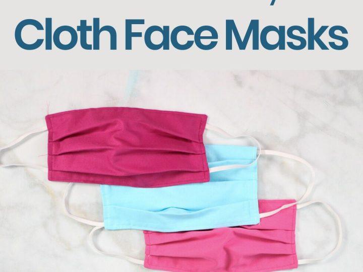 Where to Get a Cloth Face Mask in Hamilton and Halton