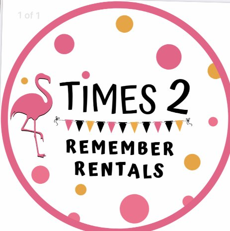 times to remember rentals logo