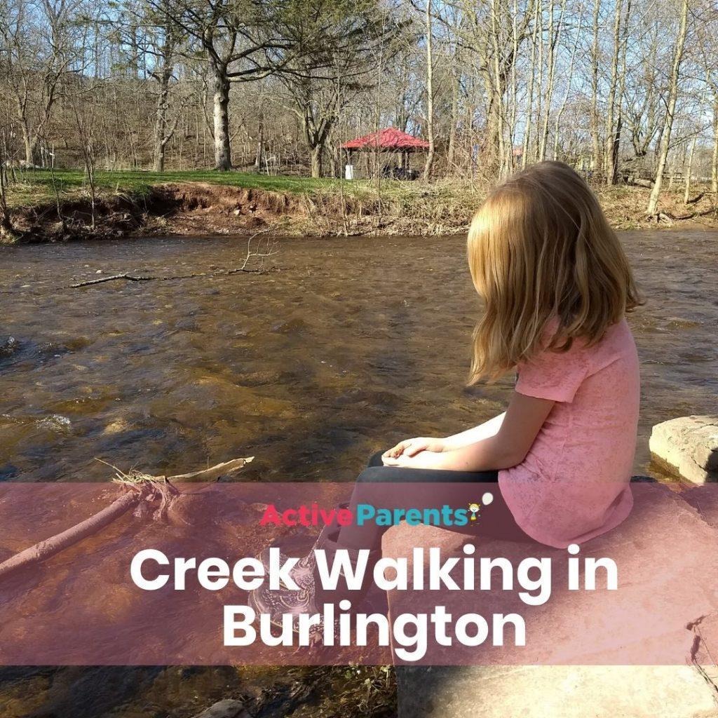 creek walking in burlington