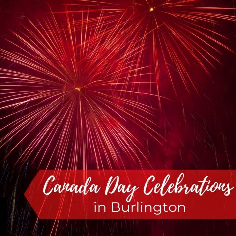 Canada day celebrations in burlington