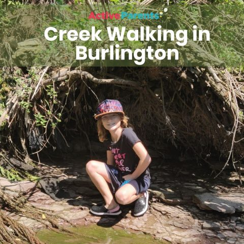 creek walking in burlington