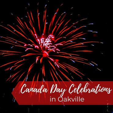 Celebrating Canada Day in Oakville
