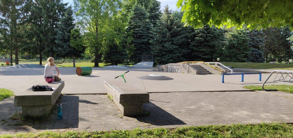 maple skate park in burlington active parents