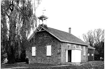 Lowville Schoolhouse Burlington Historical Society, Muriel Goodbrand