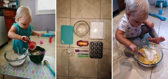 easy toddler activities baking