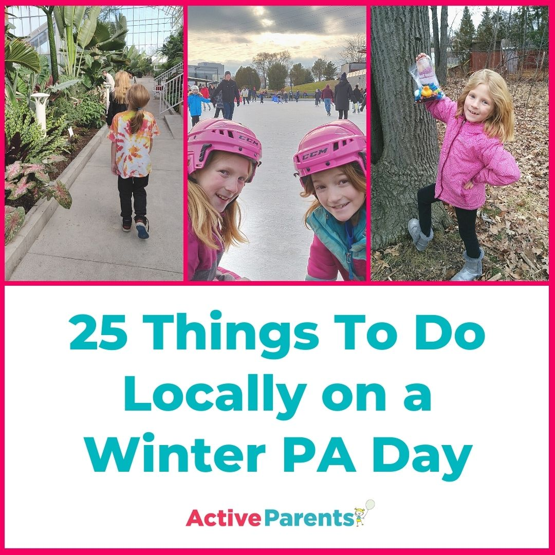Things To Do on a PA Day Winter