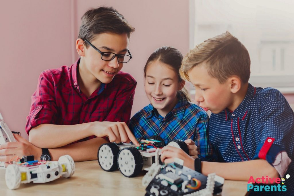 level up kids robotics classes oakville