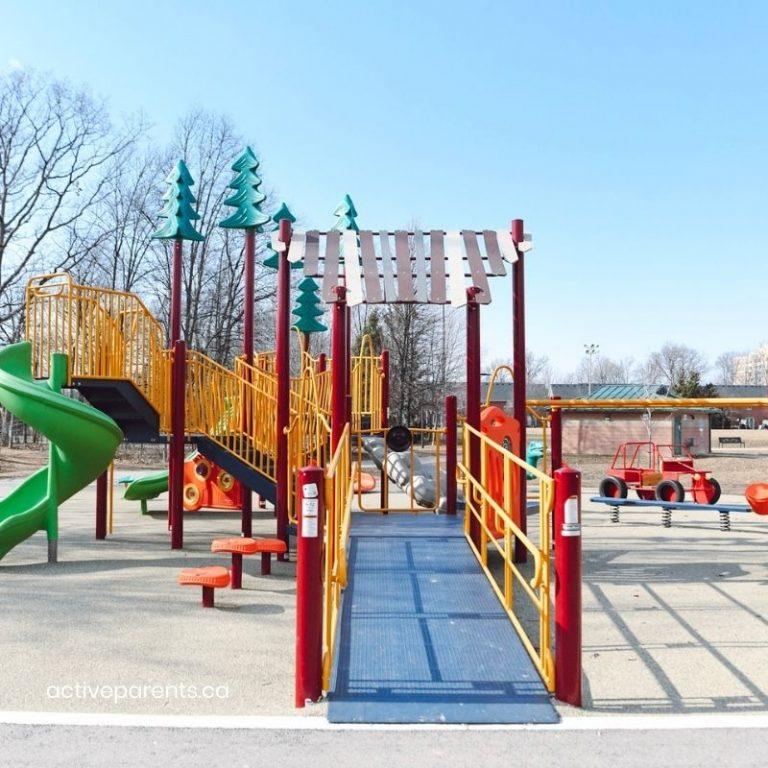 Tansley Woods Playground Burlington