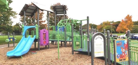 Lasalle park burlington playground features