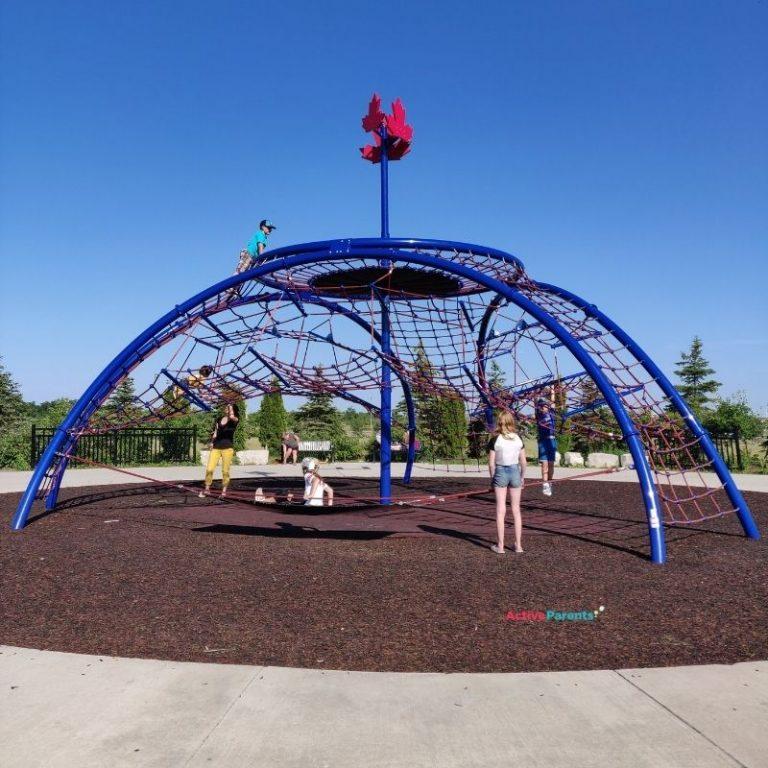 milton playground climber