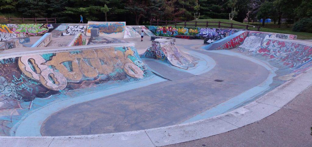 oakville skate park shell park