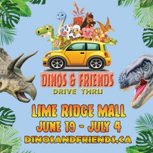 dinos and friends poster