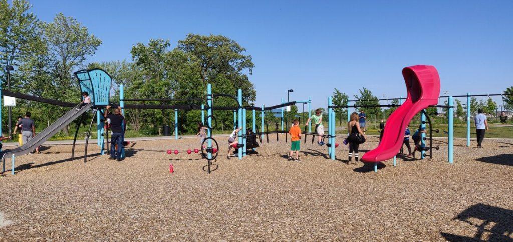 park in milton zipline