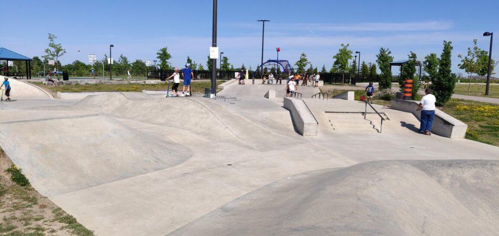 skate park milton sports complex