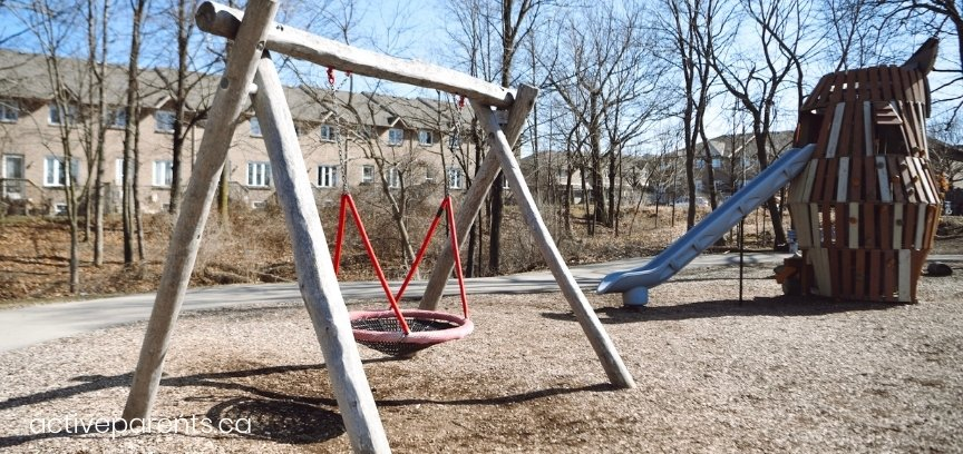 swings at chappel east playground