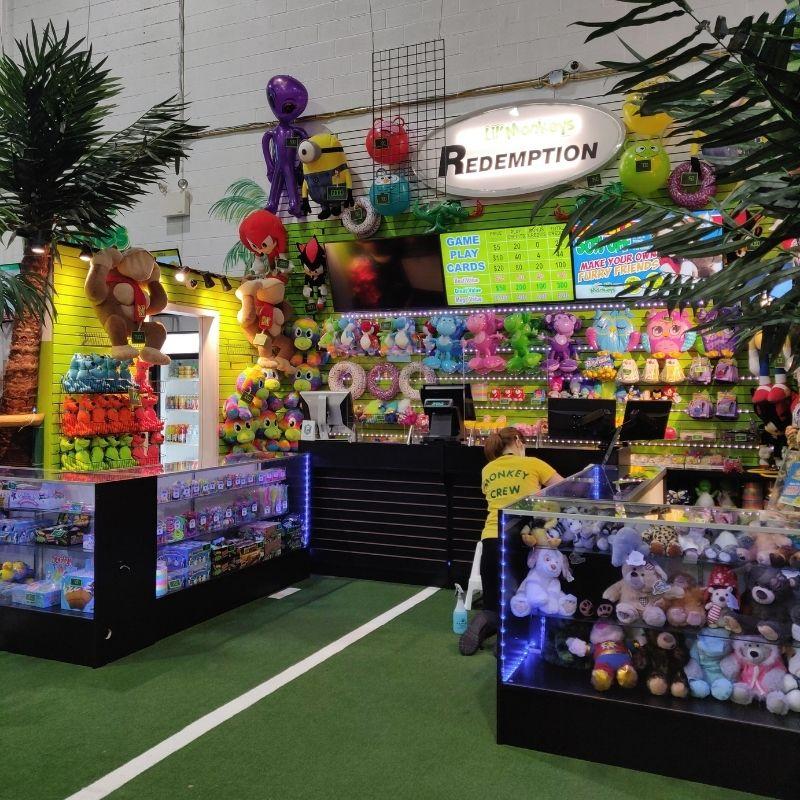 arcade redemption centre