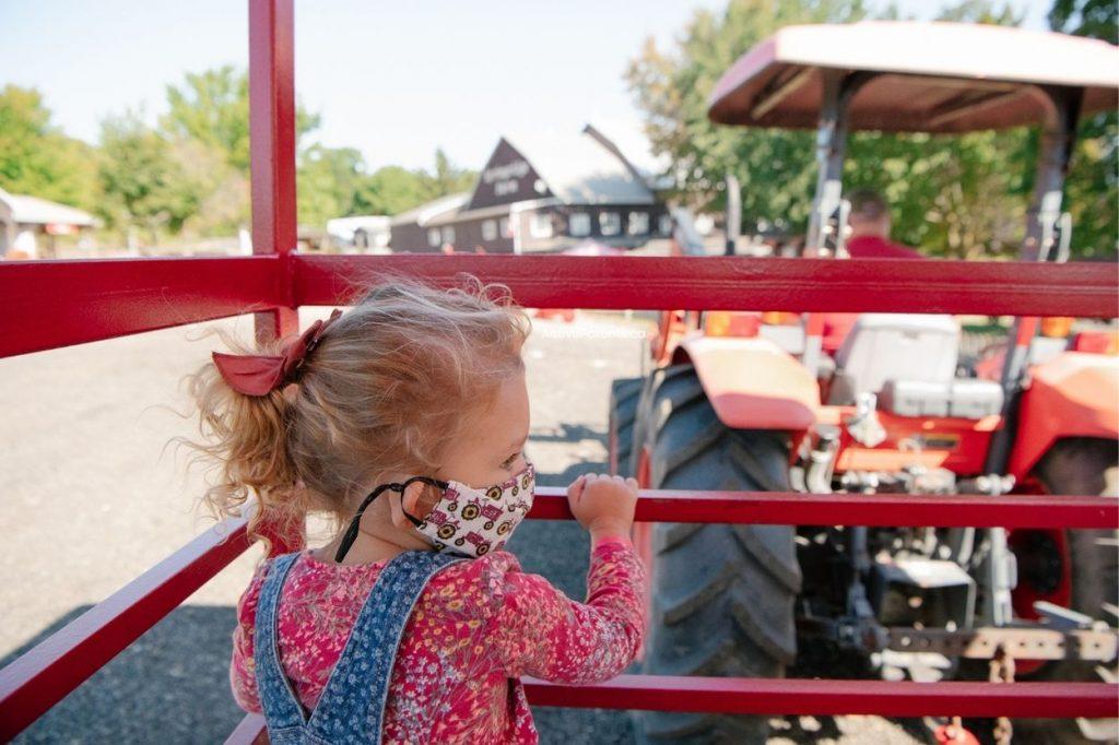 tractor rides at springridge farm