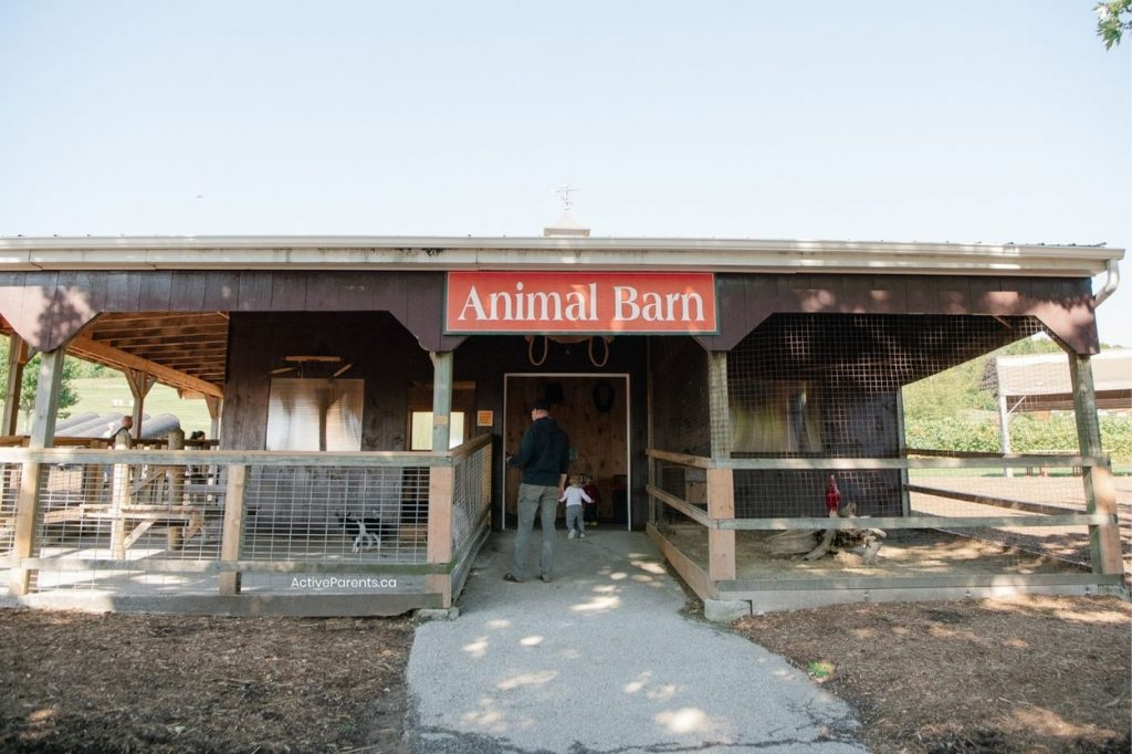 Animal farms in Milton