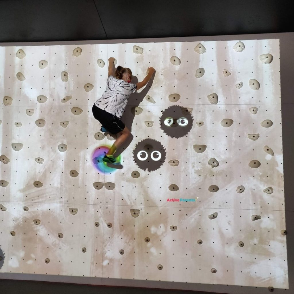 augmented reality bouldering wall